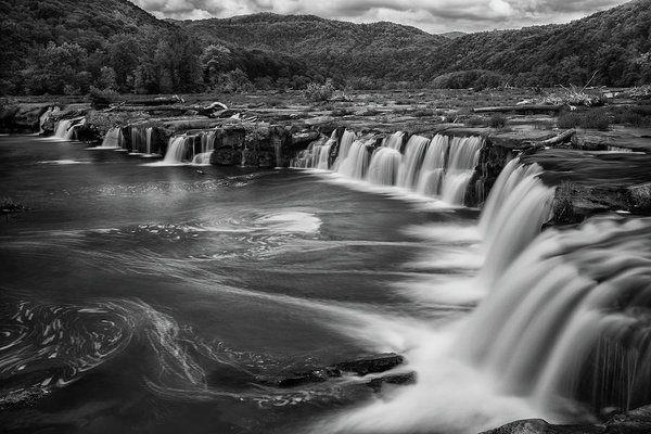 CANVAS Sandstone Falls Art print POSTER
