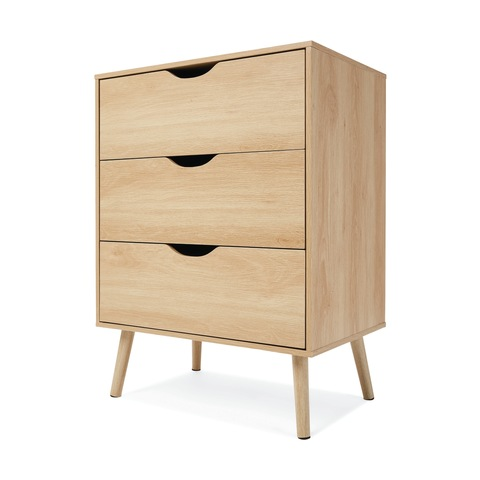 Oak Look Chest Of Drawers In 2020 Drawers Chest Of Drawers Drawer Unit