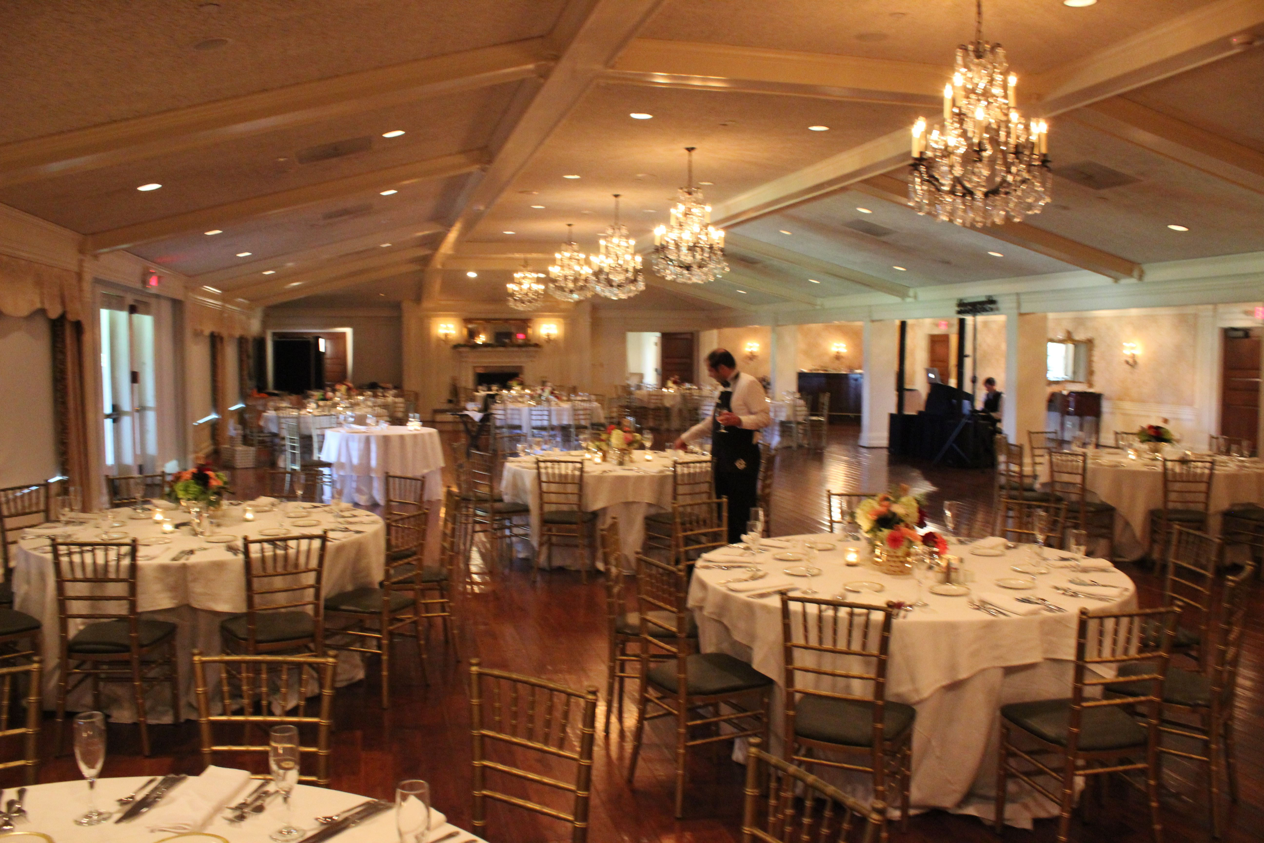 Oakmont Country Club Wedding Dj Table Decorations Decor