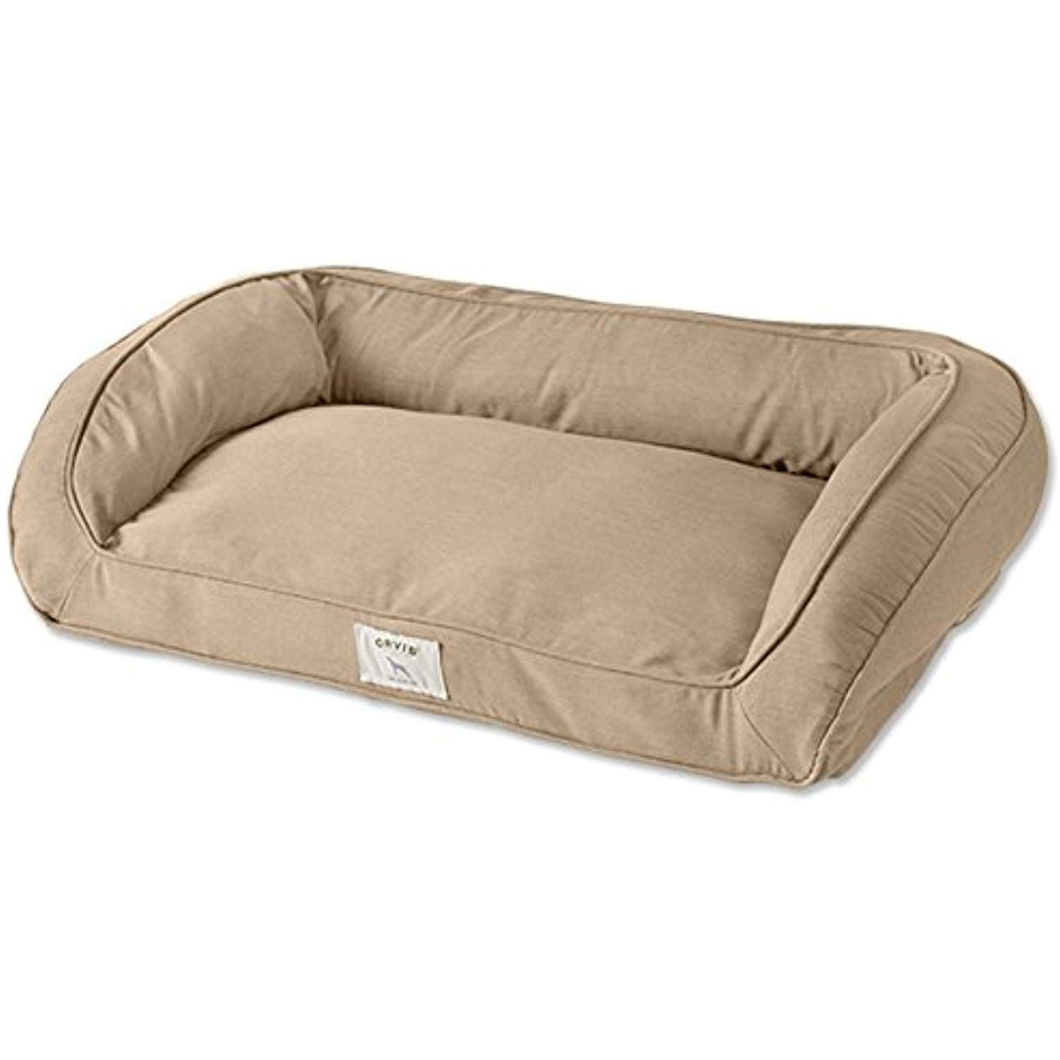 Sunbrella Orvis Indoor Outdoor Comfortfill Bolster Dog Bed Only Large Dogs 60 90 Lbs Beige Click On The Image For Additional Details Dogbeds