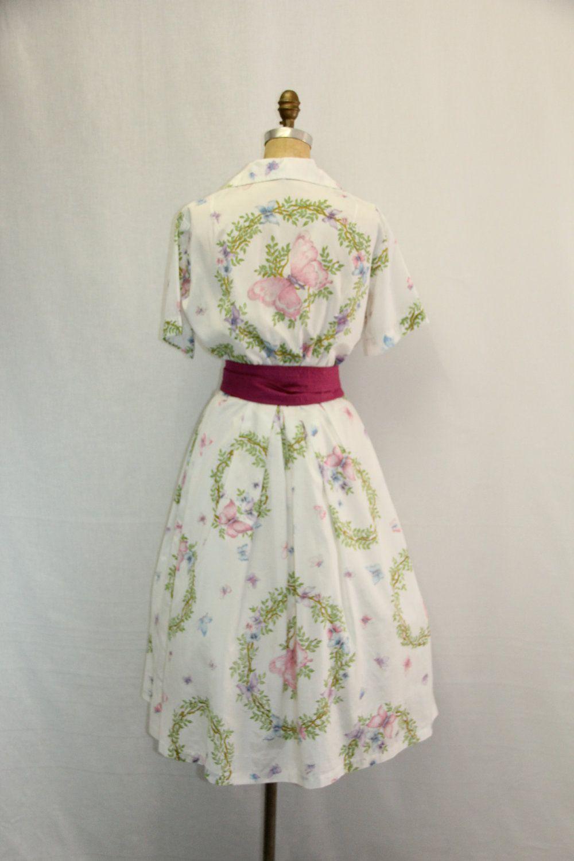 Vintage 50s Spring Garden Party Dress Etsy Garden Party Dress Party Dress Pretty Dresses [ 1389 x 1080 Pixel ]