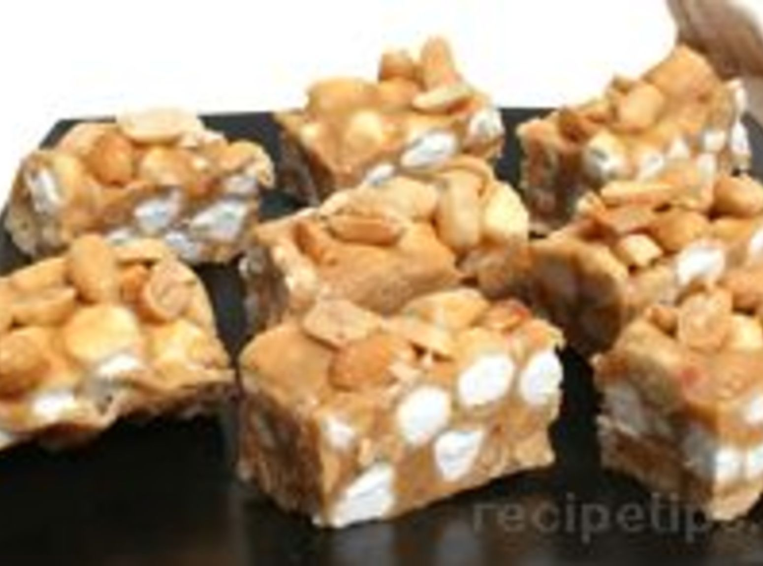 Salted Nut Roll Bars