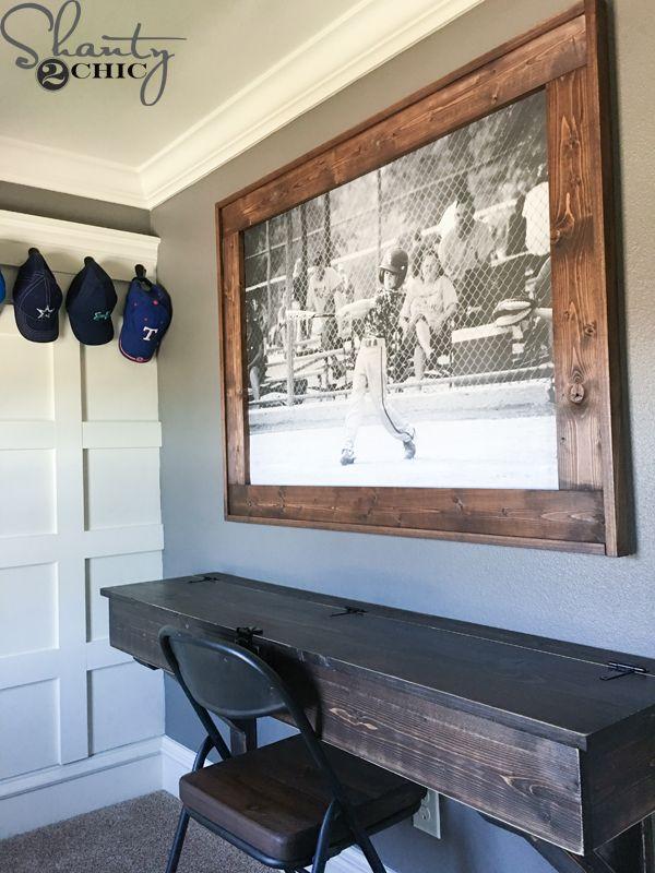 diy engineer print frame wood projects diy home decor diy home
