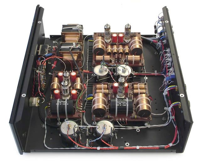 Assembled 500W Power Amplifier with 2SC2922, 2SA1216 Hubby - p & l form