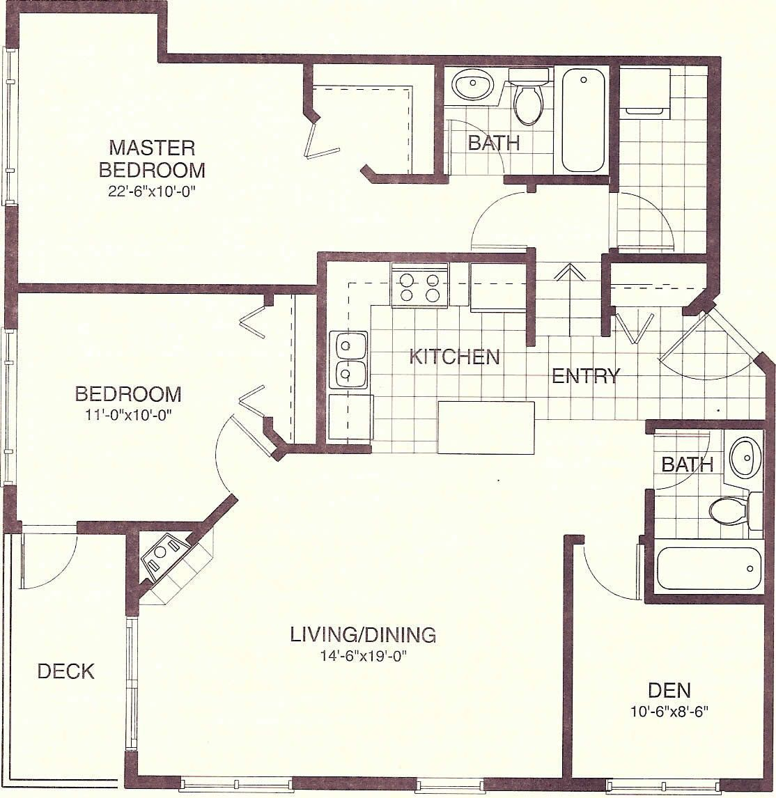 House Plans 900 Sq Ft home examples in 2020 Small house