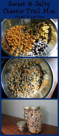 Frugal Nut Allergy Friendly Cheerio Trail Mix