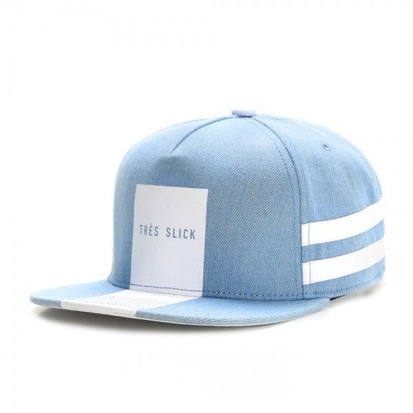 Tres Slick Light Blue Snapback - Cayler   Sons  2dc64866bf5