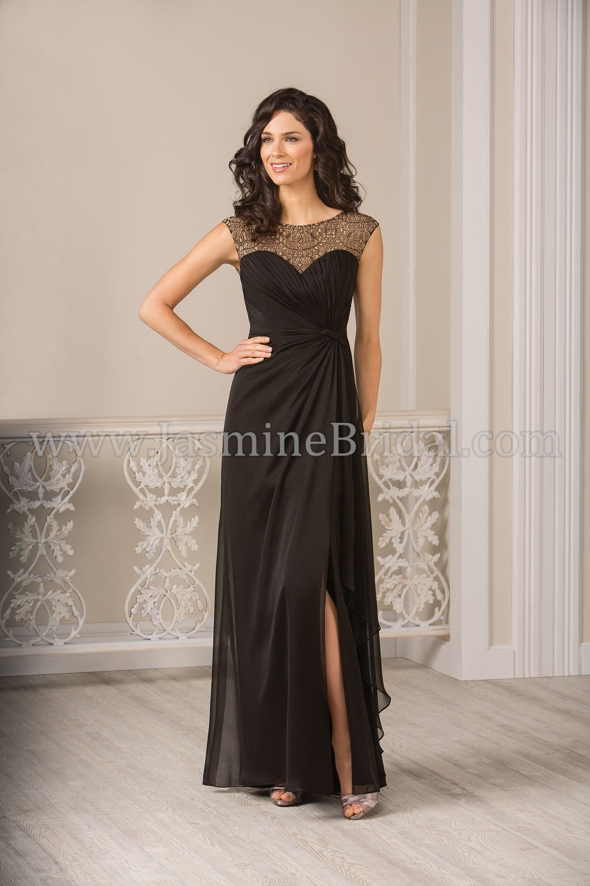 Jasmine Bridal Jade Style J185017 *Available at http://www.tie-the ...
