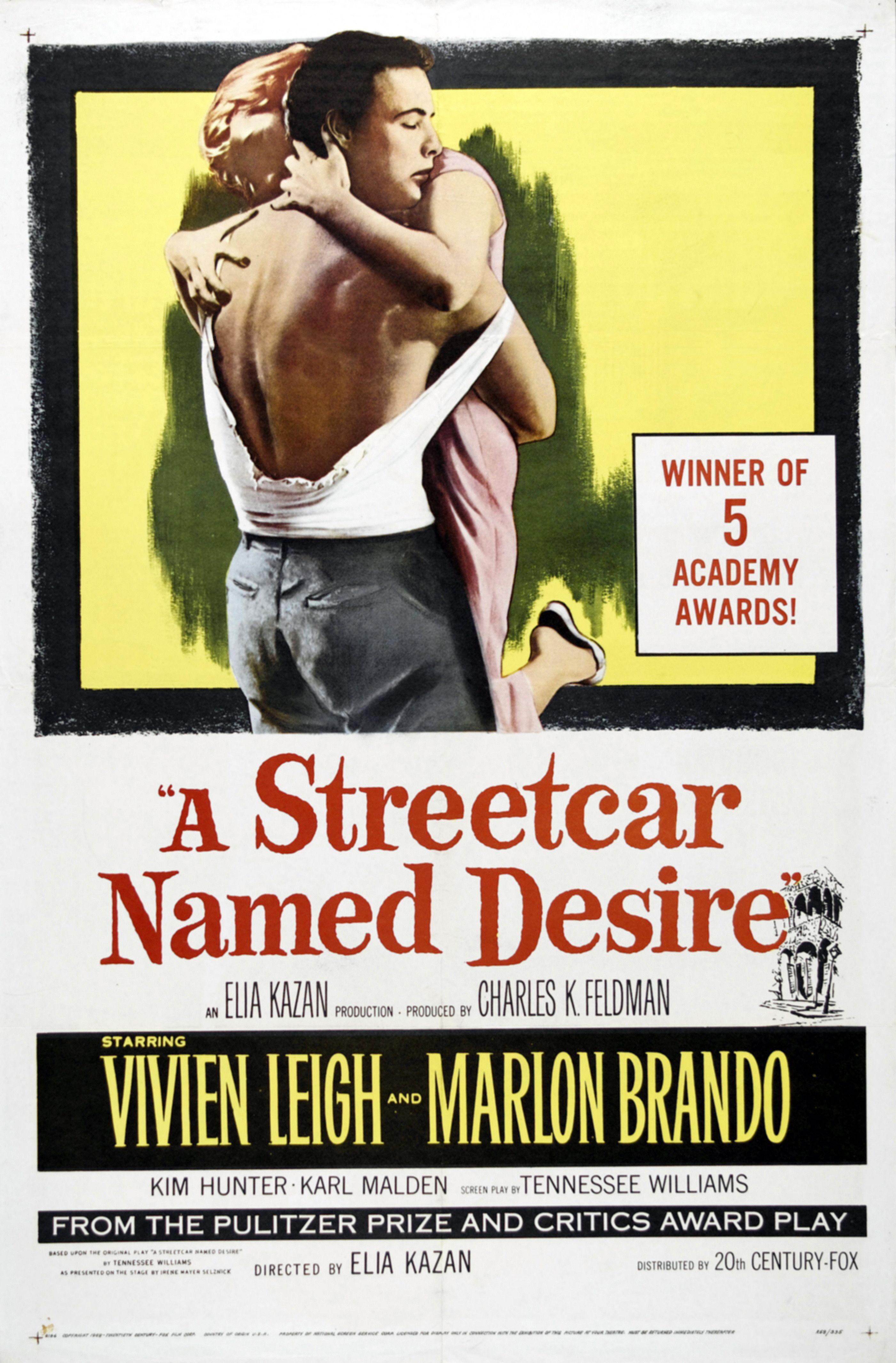A streetcar named desire topic sentence
