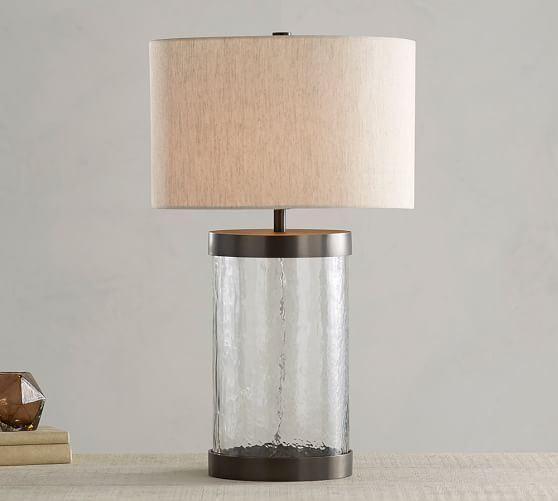 Glass Base Table Lamps Cfl Murano Glass Grand Table Lamp Bronze Finish  Table Lamp Base