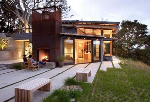 Modern Architecture House Design By Feldman Architecture In