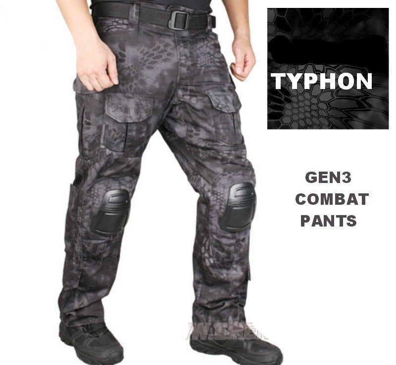 TYPHON GEN3 G3 Combat Cargo Pants Urban Trousers Tactical SWAT Kryptek CQB in Clothing, Shoes & Accessories, Uniforms & Work Clothing, Pants & Shorts | eBay