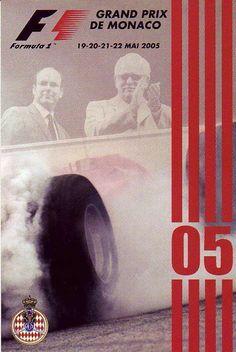 2005 Monaco Grand Prix poster