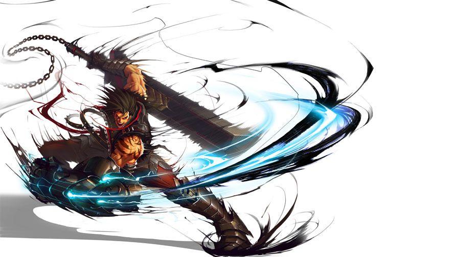 超アクションrpg kritika クリティカ の公式メンバーサイト ゲームキャラクターのデザイン 剣士 イラスト キャラクターアート