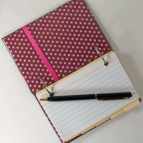 Merry Christmas Index Card Journal
