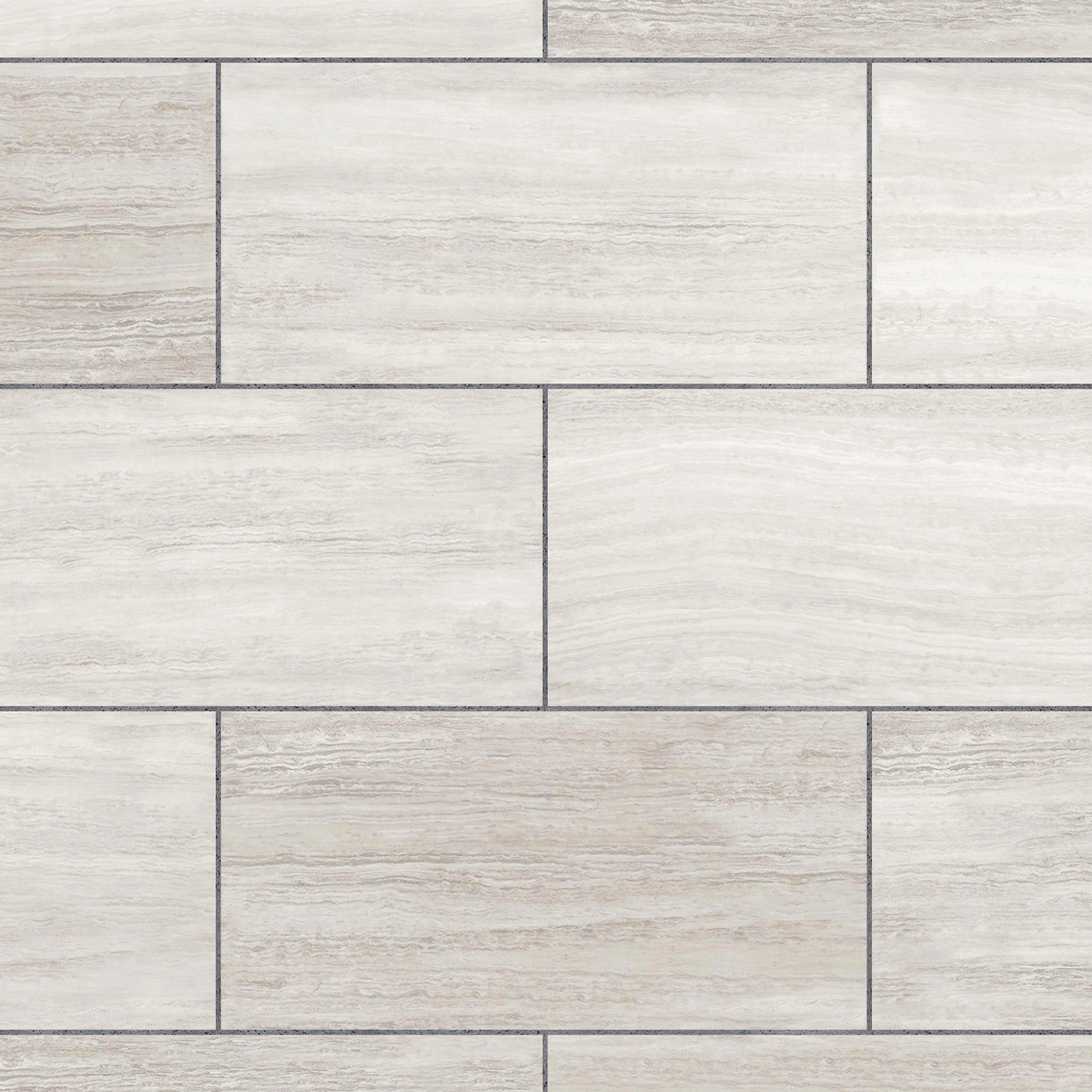 White Grouted Rigid Core Luxury Vinyl Tile Cork Back In 2020