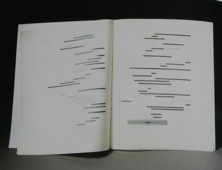 Marcel Broodthaers Stéphane Mallarmé Un Coup De Dés Jamais N Abolira Le Hasard Altered Book Artist Books Visual Poetry Poetry