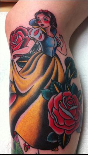 #snowwhite #disney #tattoos
