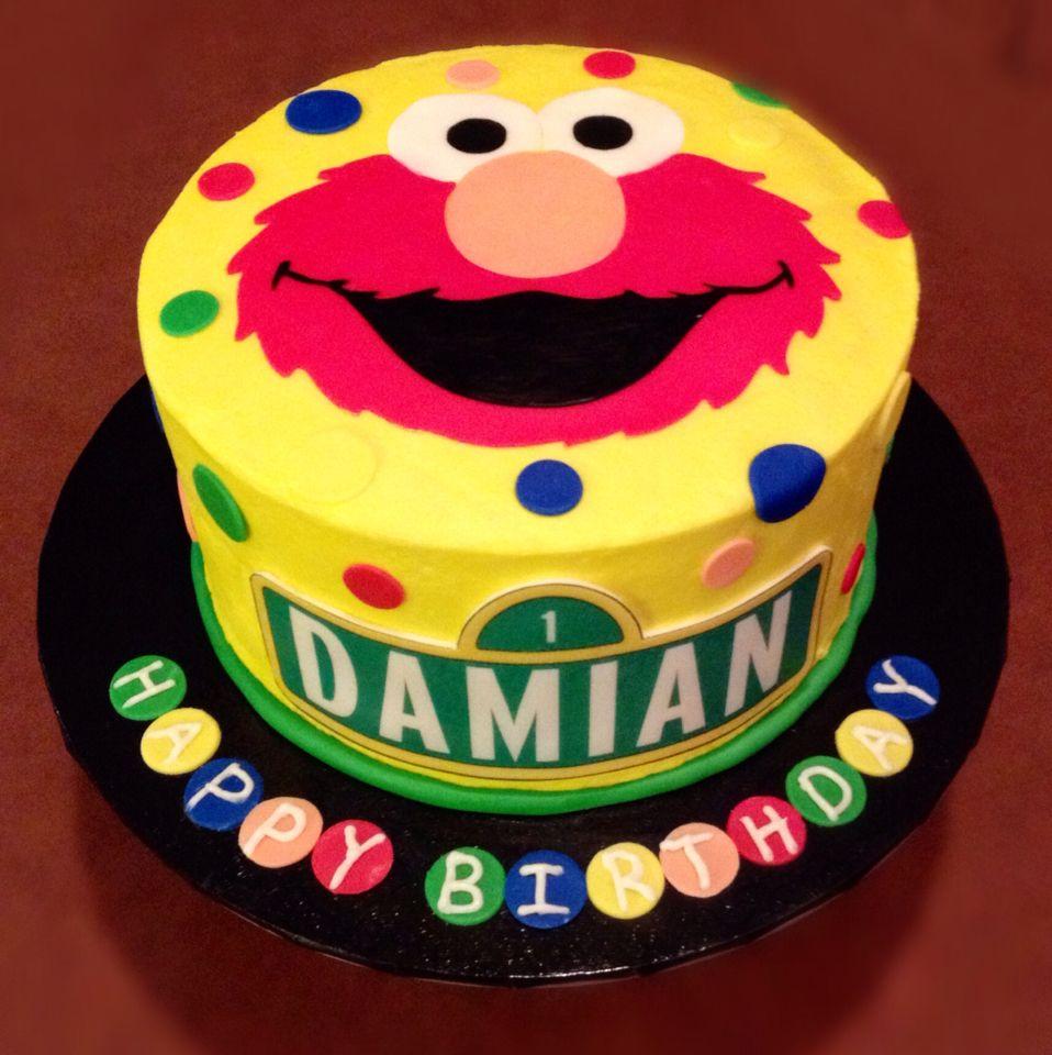 Elmo Cake Makenzie 2 Pinterest Elmo Cake Elmo And Cake