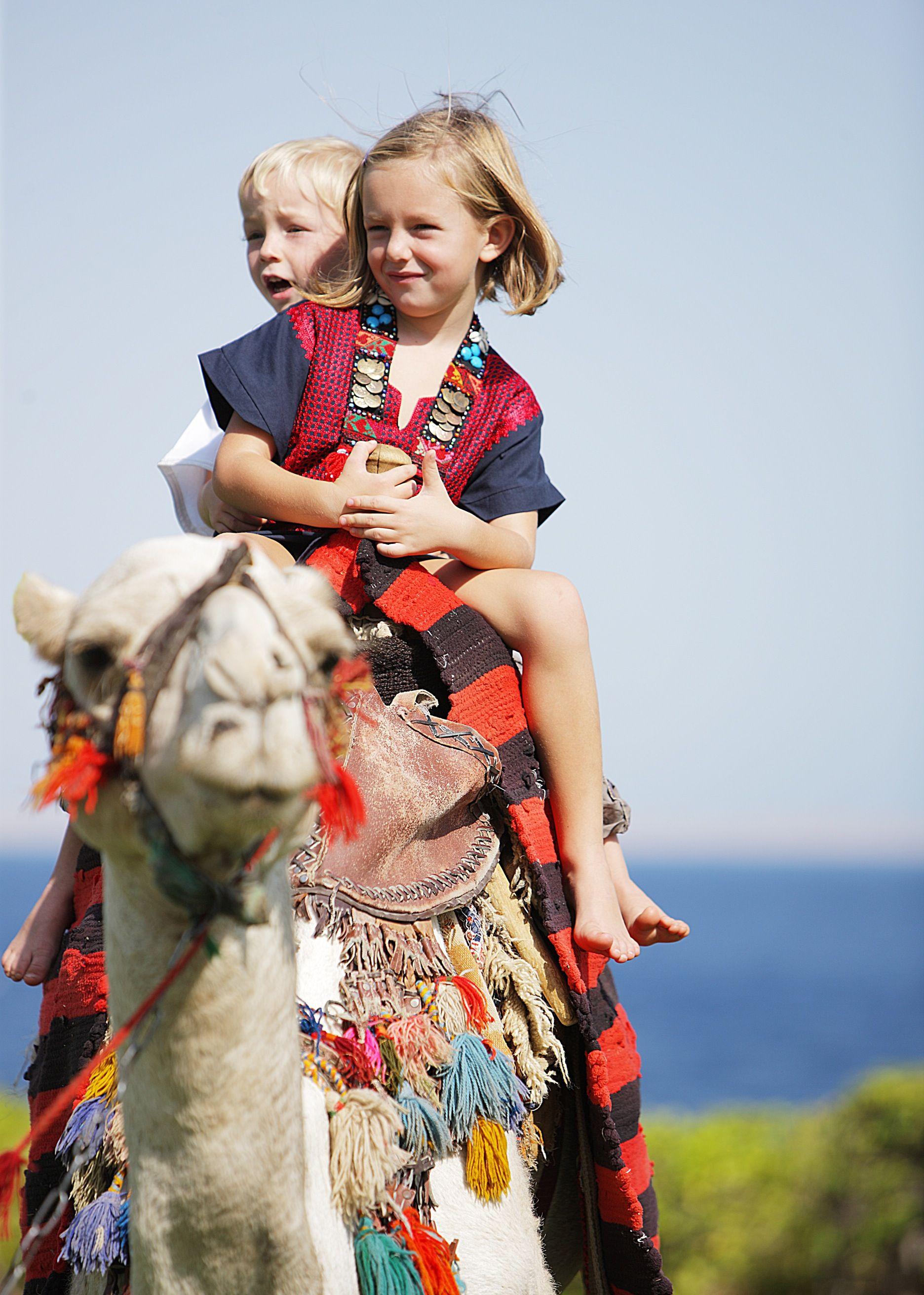 Kids at Four Seasons Resort Sharm El Sheikh go wild !