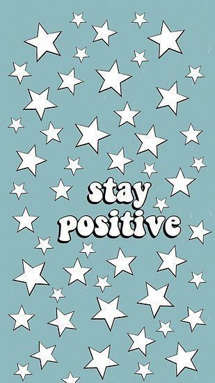"""'vsco """"stay positive""""' Poster by mdicintio"""
