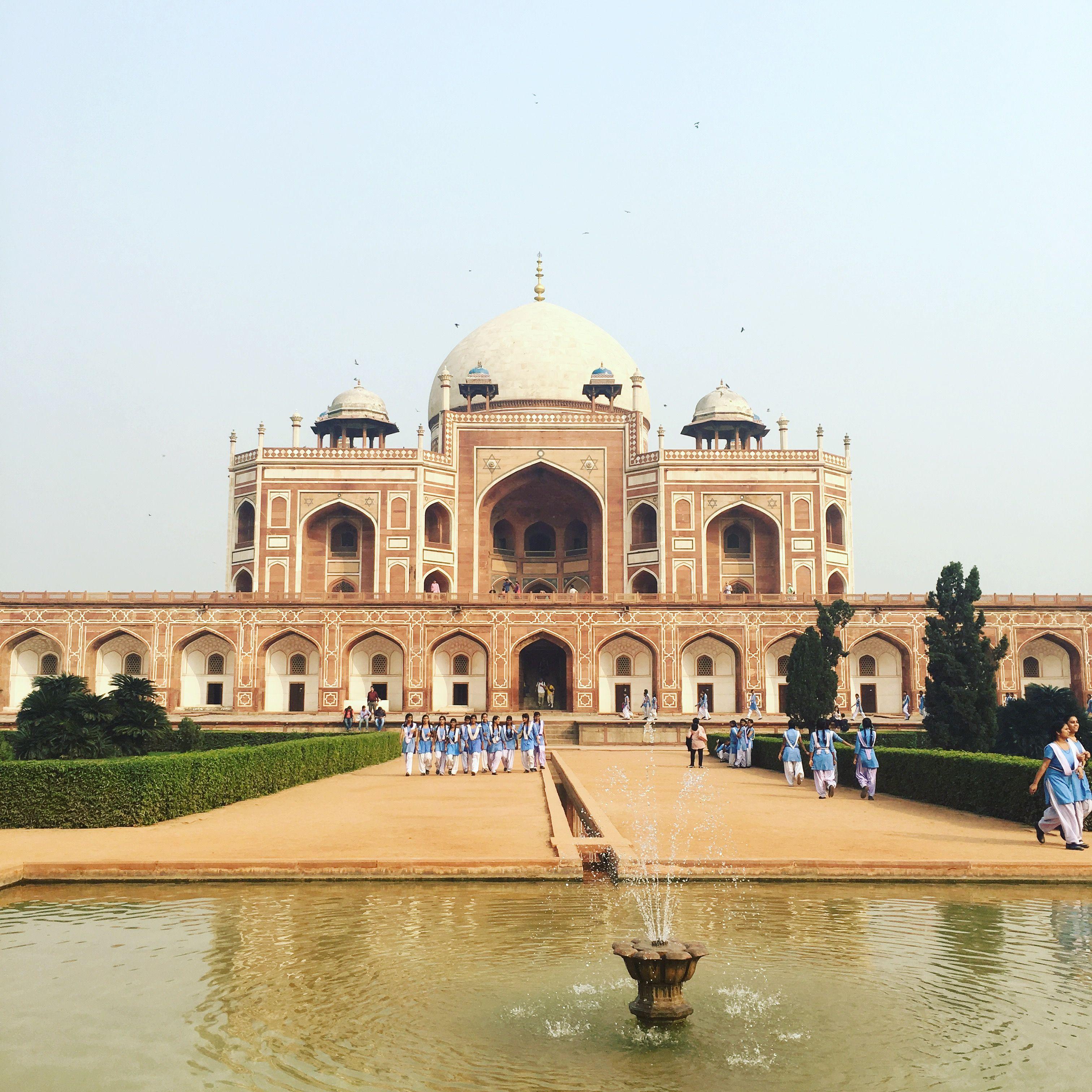 Humayun's Tomb Delhi India Travel Wanderlust