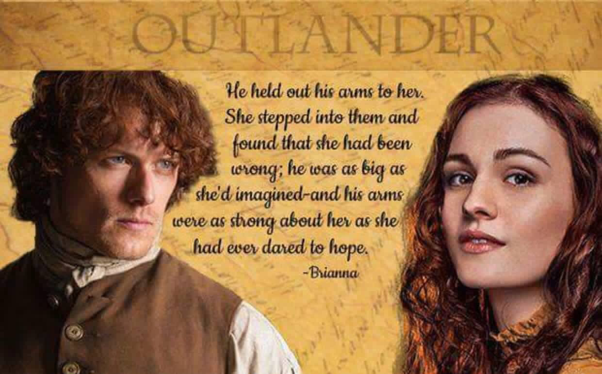 Frase Matrimonio Outlander.Briana S 1st Meeting With Her Father Jamie Fraser She S From The