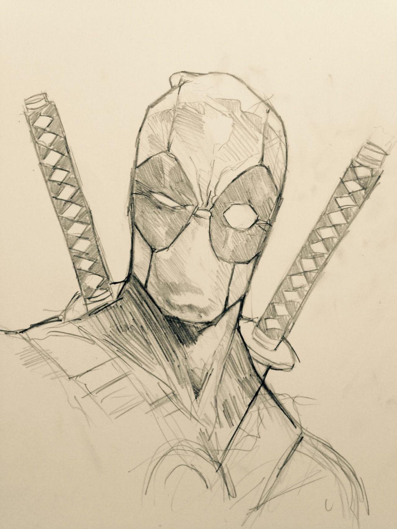 Deadpool By Dave Seguin Deadpool Drawing Deadpool Art Marvel Drawings