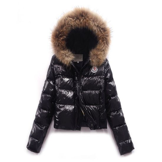 325dc0540b Moncler Jacket - patent and fur lined. So essential for a ski trip ...