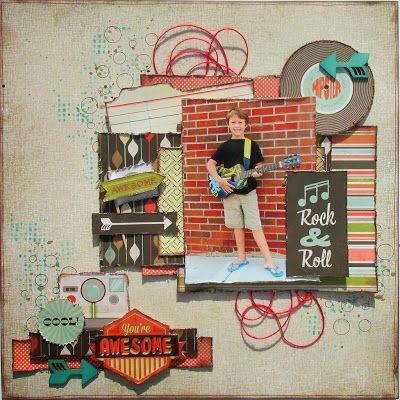Rock N Roll by Kristin Greenwood