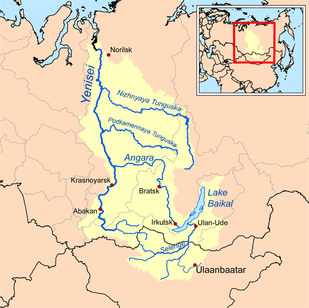 Yenisei River basin   Favorite Places & Spaces   Pinterest   River ...