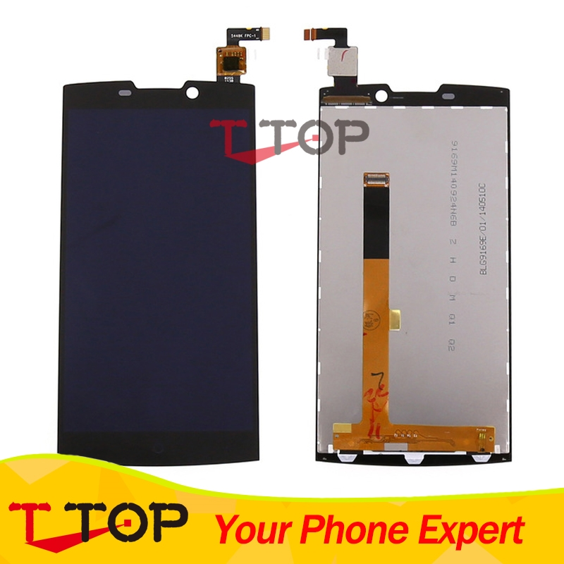 (35.00$)  Watch more here  - For Highscreen Boost 2 SE LCD Display And Touch Screen Panel Digitizer Assembly 1PC/Lot