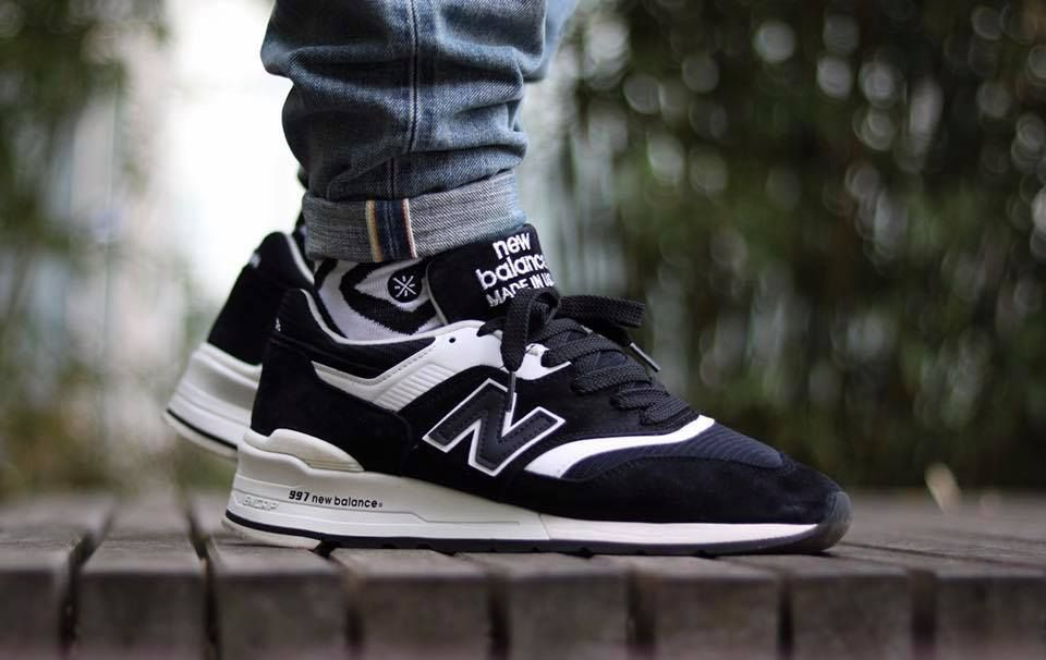 buy popular 225a4 26bf3 New Balance 997 BBK - 2015 (by tupscnvlt) Pack and travel with shoe trees  by Sole Trees  Sneakers  ShoeTrees  SoleTrees  ShoeTreesForSneakers