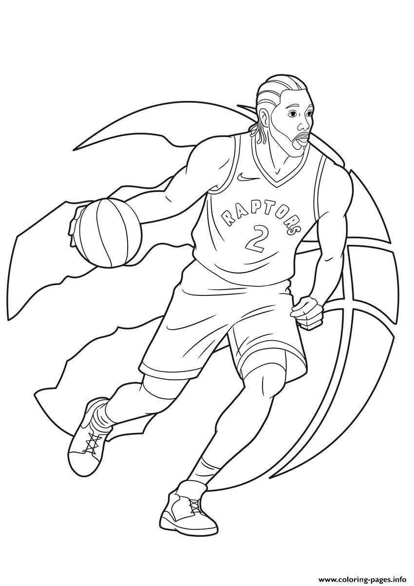 Golden State Warriors Coloring Pages Kawhi Leonard Raptors Toronto Coloring Pages Printable Puppy Coloring Pages Cute Coloring Pages Cross Coloring Page
