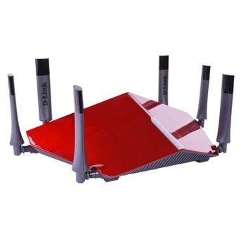 D-Link DIR-890L Tri-Band Wireless-AC3200 4-Port Ultra Router w/mydlink Cloud Service & iOS/Android App Support