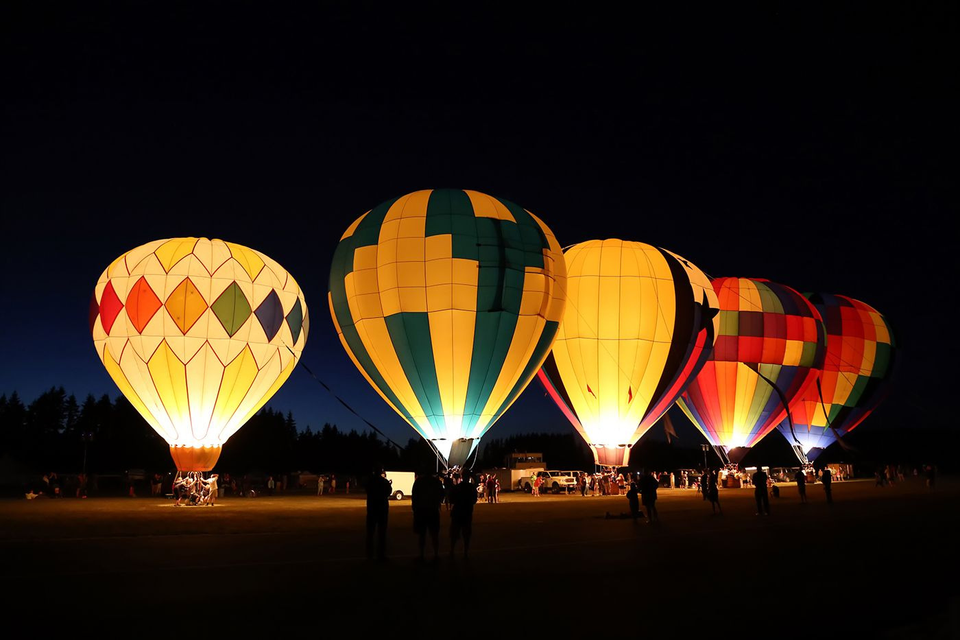 Spirit of Boise Balloon Classic 2020 in Boise, ID Hot