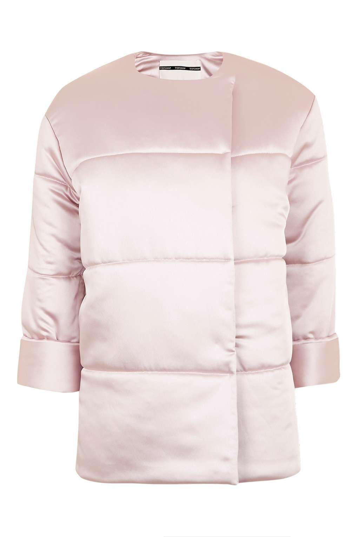 Satin Puffer Jacket Puffer Jackets Light Pink Jacket Pink Puffer Coat [ 1530 x 1020 Pixel ]