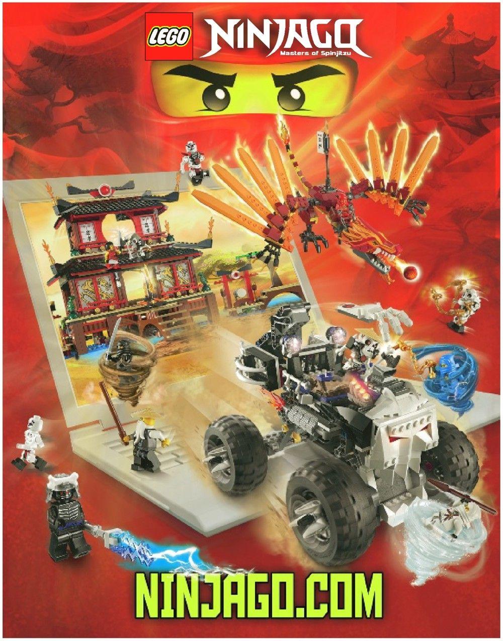 Ninjago Fire Temple Lego 2507 Lego Pinterest Lego Lego