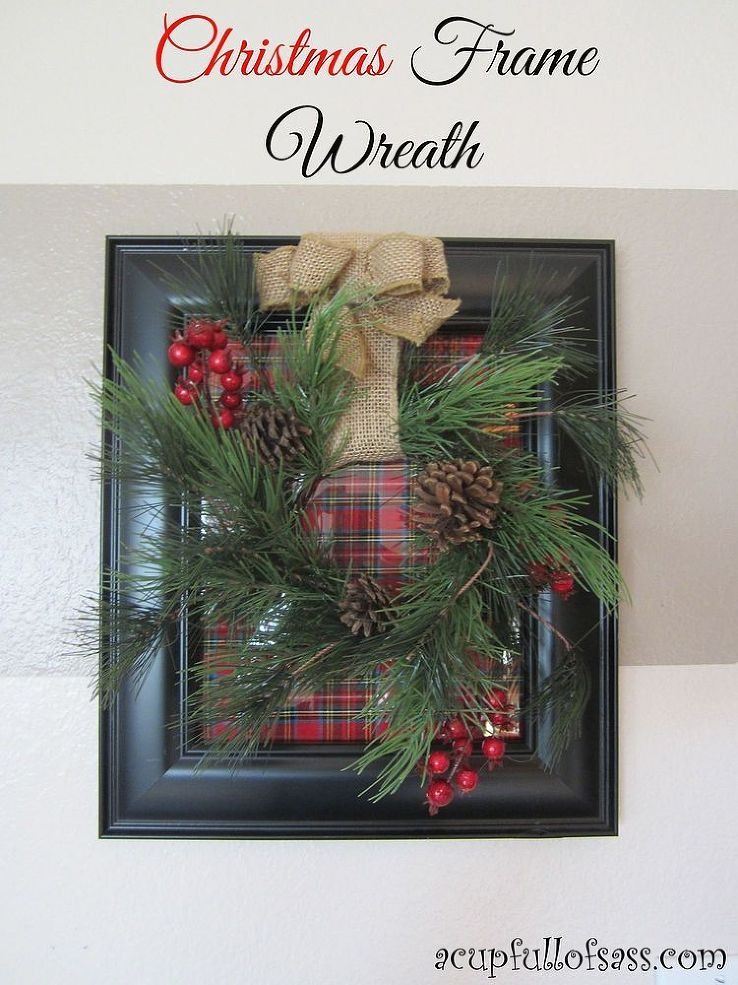 Xmas Picture Frame Crafts