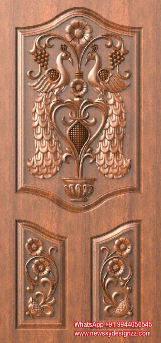 12 Fancy Wood Carving Designs In Chennai Photos Wood Carving Woodcarving101 Com Wooden Door Design Front Door Design Wood Door Design