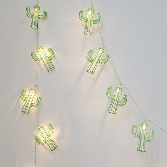 20 Cactus Battery Fairy Lights images