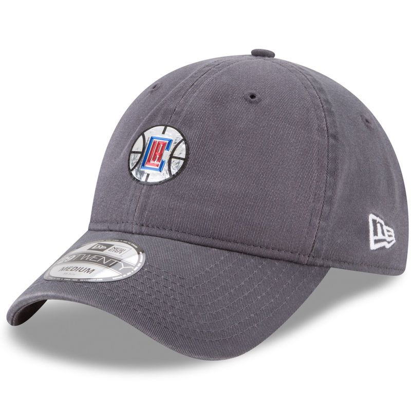 new arrival a96f2 d949f LA Clippers New Era On-Court 29TWENTY Fitted Hat - Graphite