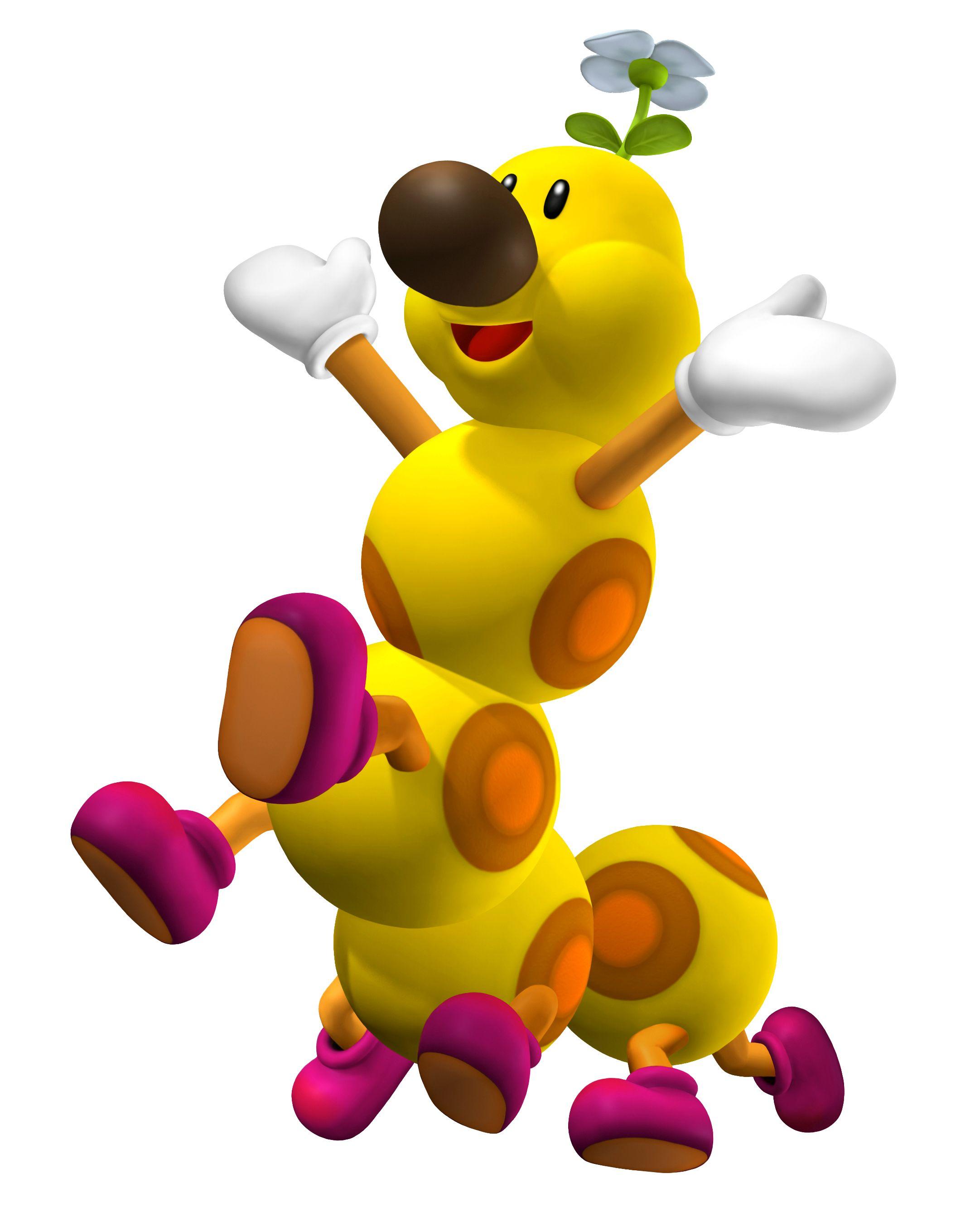 Wiggler Mario Super Mario Nintendo