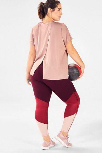 pointe 2piece outfit  workout pants women fashion plus