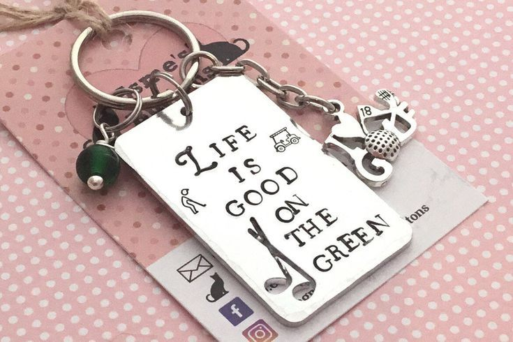 Sphynx Cat Keyring ANY MAN CAN BE A FATHER DADDY Novelty Key Ring Gift Present