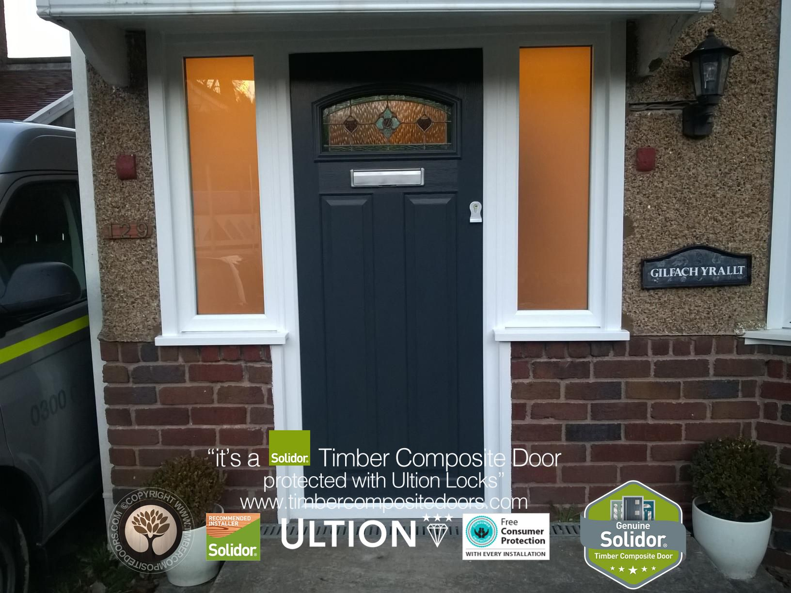 Anthracite Grey London with Flag Windows | Solidor - Anthracite ...