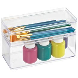 Narrow Stackable Rectangles. Container StoreThe ContainerCraft  OrganizationCraft StorageWholesale Office SuppliesFood ...