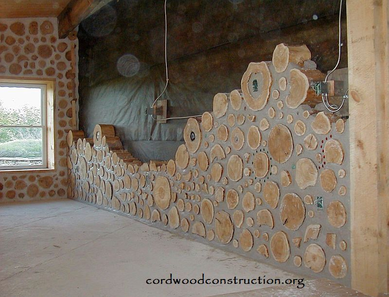 In The Mid 70 S Cliff Shockey Of Vanscoy Saskatchewan Canada Decided To Build And Energy Efficient Home Cordwood But Since He Lived Where Temps