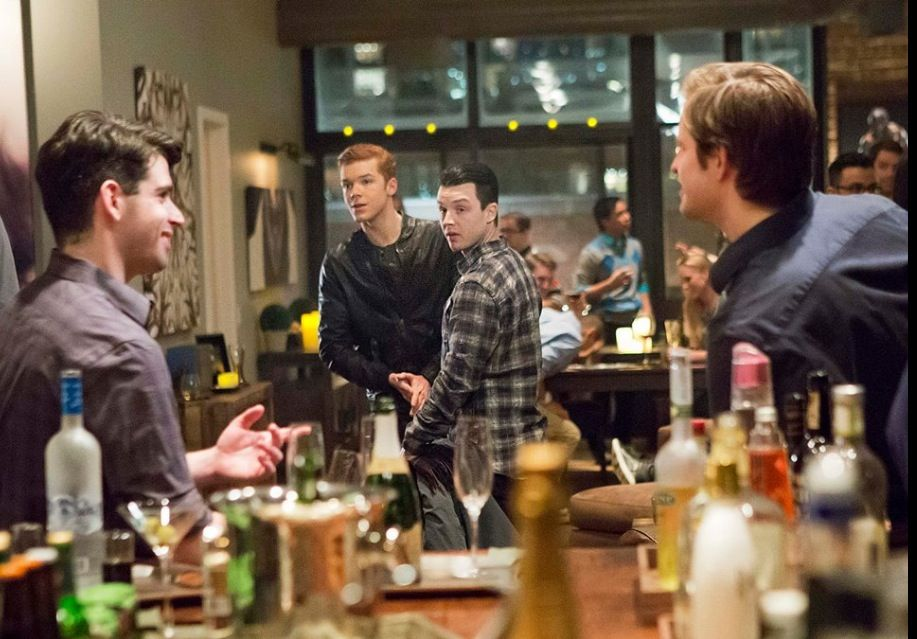 Ryan - Did you guys just meet last night or are you together?  Mickey - Together.  Ryan - Cool. You're a lucky dude.
