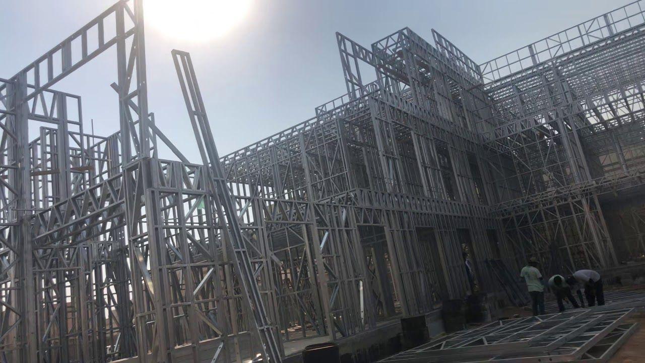فيلا مبنيه بالحديد البارد Youtube In 2021 Brooklyn Bridge Landmarks Building
